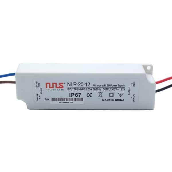 LED Trafo 12V 20W IP67