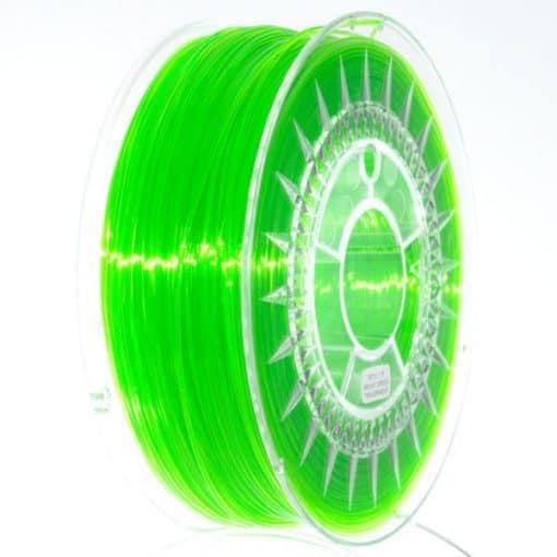 PETG Filament 1,75mm transparent grün