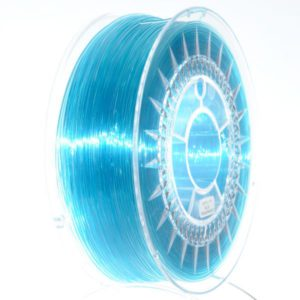 PETG Filament 1,75mm transparent blau