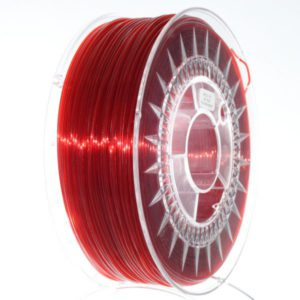 PETG Filament 1,75mm transparent rot
