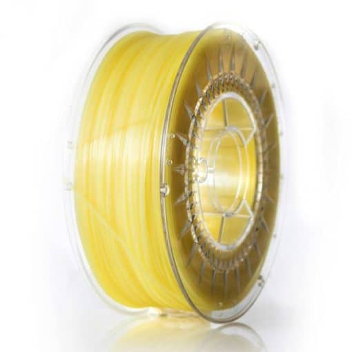 ABS Filament 1,75mm transparent gelb